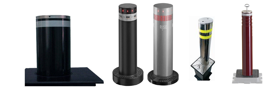 Parking Bollards Suppliers in dubai, UAE | Call for Fixed & Rising